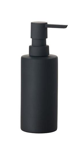 zone seifenspender solo porzellan soft touch schwarz matt kaufen. Black Bedroom Furniture Sets. Home Design Ideas