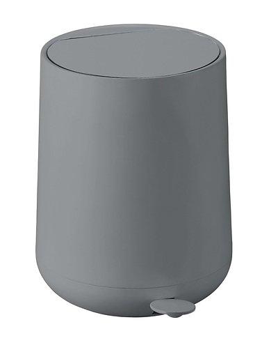 zone pedaleimer nova soft touch 5l grau matt kaufen. Black Bedroom Furniture Sets. Home Design Ideas
