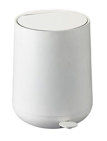 zone pedaleimer nova soft touch 5l wei matt kaufen. Black Bedroom Furniture Sets. Home Design Ideas