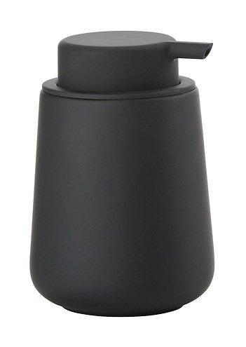 zone seifenspender nova one keramik soft touch schwarz matt kaufen. Black Bedroom Furniture Sets. Home Design Ideas