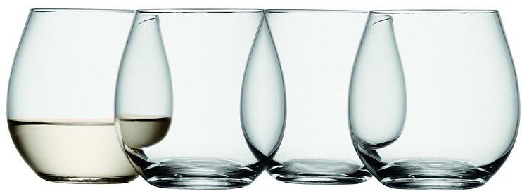lsa weinglas wine ohne stiel 370ml klar 4er set kaufen. Black Bedroom Furniture Sets. Home Design Ideas