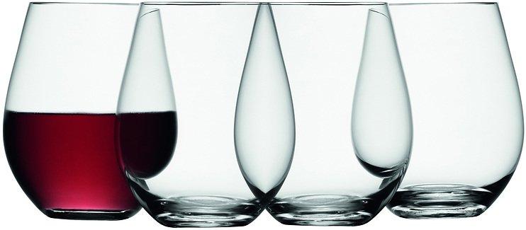 lsa weinglas wine ohne stiel 530ml klar 4er set kaufen. Black Bedroom Furniture Sets. Home Design Ideas
