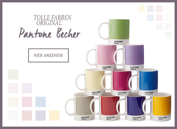 Original PANTONE Becher