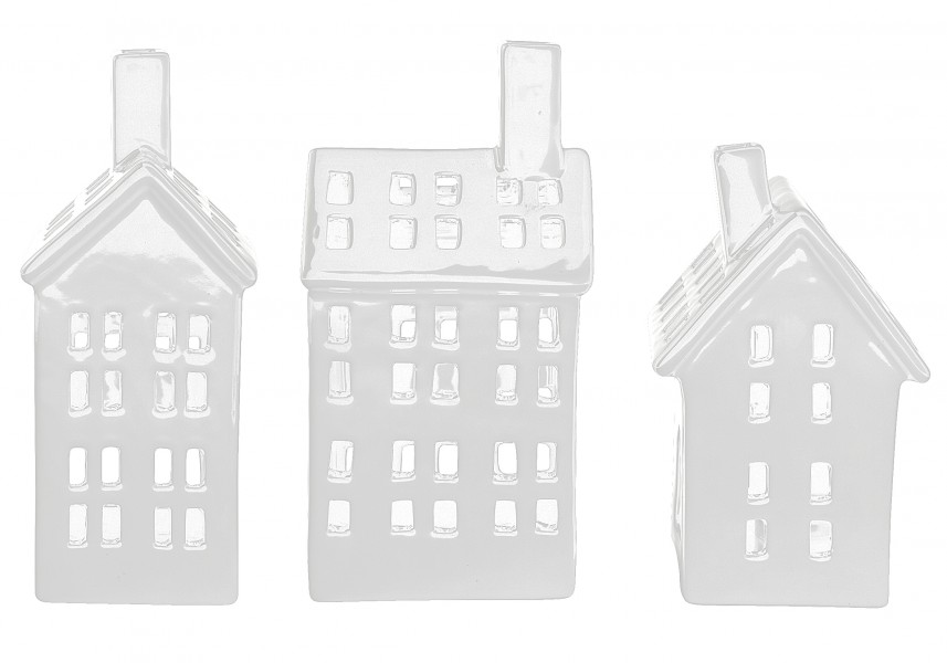 kj collection windlicht keramikhaus wei jetzt online. Black Bedroom Furniture Sets. Home Design Ideas