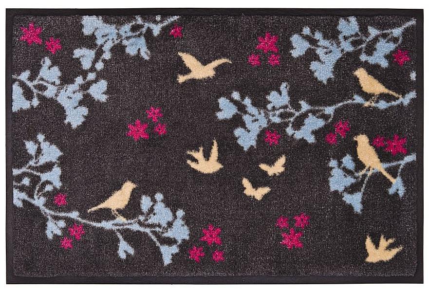 gift company fu matte birds waschbar 75 x 50cm grau jetzt online bestellen. Black Bedroom Furniture Sets. Home Design Ideas