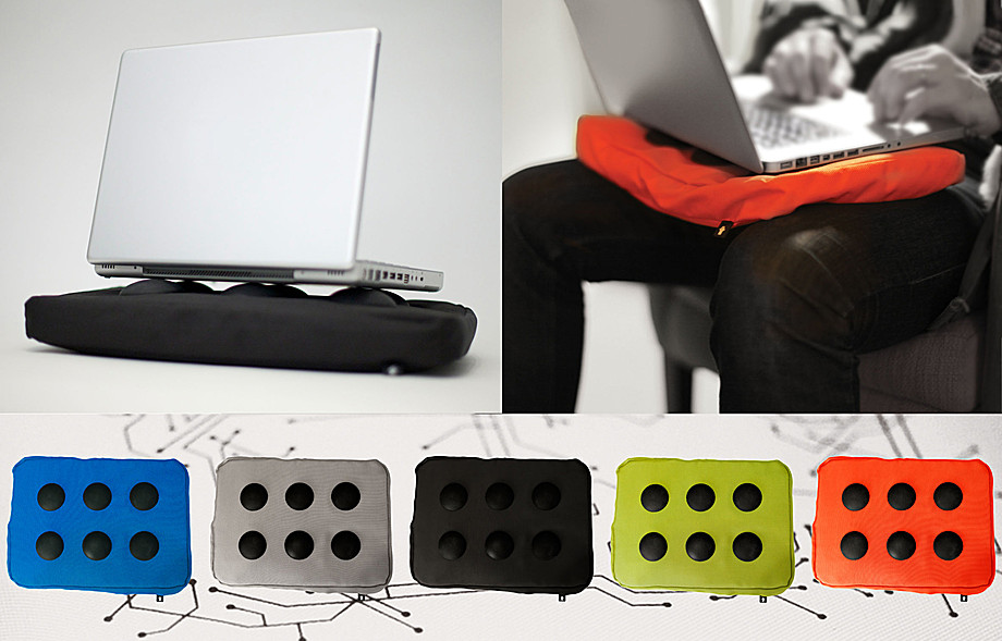 bosign laptopkissen surfpillow hitech schwarz jetzt online bestellen. Black Bedroom Furniture Sets. Home Design Ideas