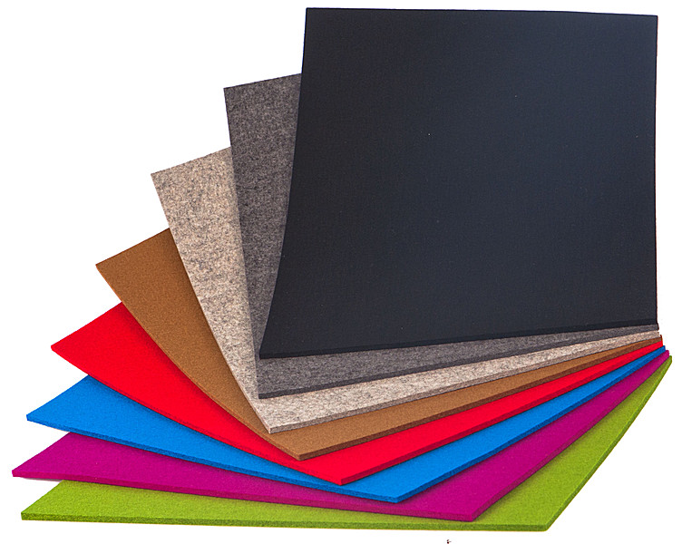 tischset filz rechteckig 45 x 35cm schwarz tischsets tischw sche essen trinken. Black Bedroom Furniture Sets. Home Design Ideas