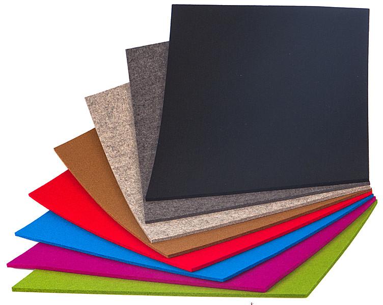 tischset filz rechteckig 45 x 35cm schwarz tischsets. Black Bedroom Furniture Sets. Home Design Ideas