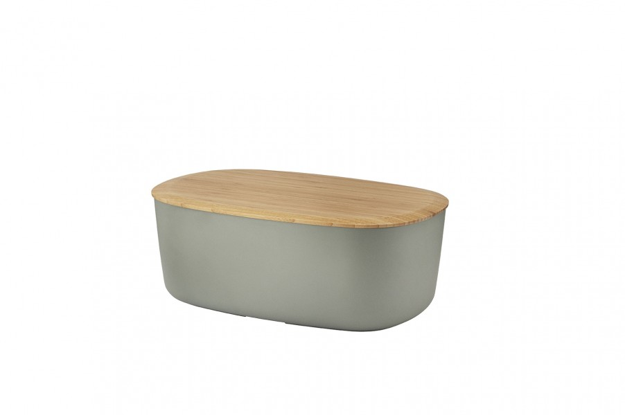 stelton rig tig brotkasten box it natur grau jetzt online. Black Bedroom Furniture Sets. Home Design Ideas