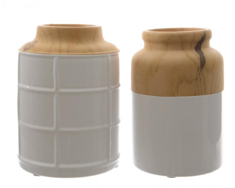 Vase Dolomit von Kaemingk jetzt online kaufen  homelivingde => Gartenmobel Set Vase